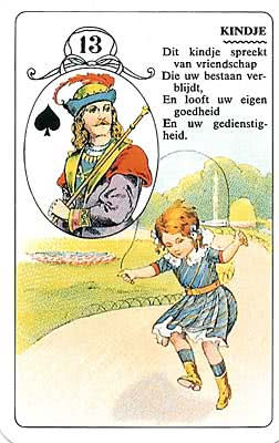 Lenormand kaart Het Kind